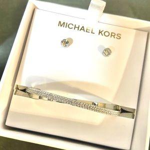 Michael Kors  bracelet and earring set!